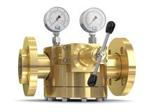 High performance dome-loaded pressure regulator operated by pilot pressure regulator